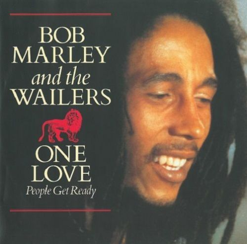 BOB MARLEY AND THE WAILERS One Love / People Get Ready Vinyl Record 12 Inch Island 1984